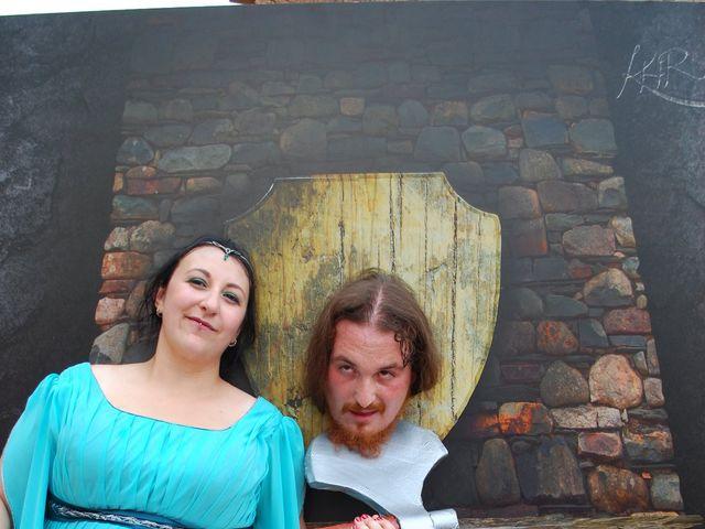 La boda de Héctor y Saray en Ayllon, Segovia 20