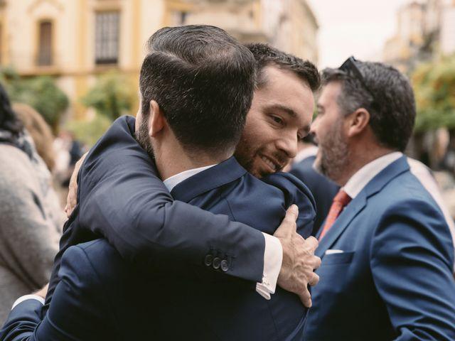 La boda de Evaristo y Lua en Sanlucar La Mayor, Sevilla 23