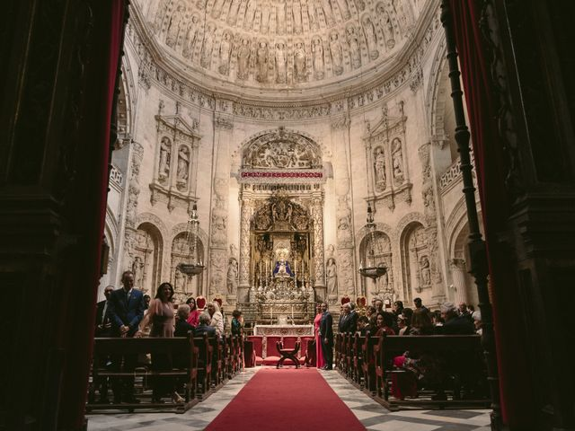 La boda de Evaristo y Lua en Sanlucar La Mayor, Sevilla 30