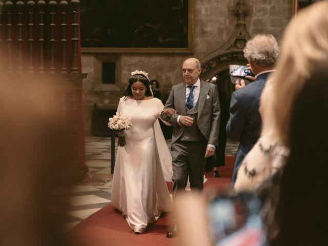 La boda de Evaristo y Lua en Sanlucar La Mayor, Sevilla 31