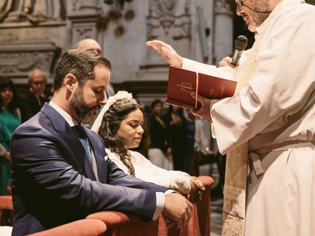 La boda de Evaristo y Lua en Sanlucar La Mayor, Sevilla 36