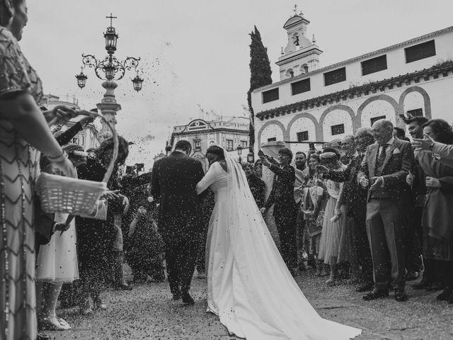 La boda de Evaristo y Lua en Sanlucar La Mayor, Sevilla 39