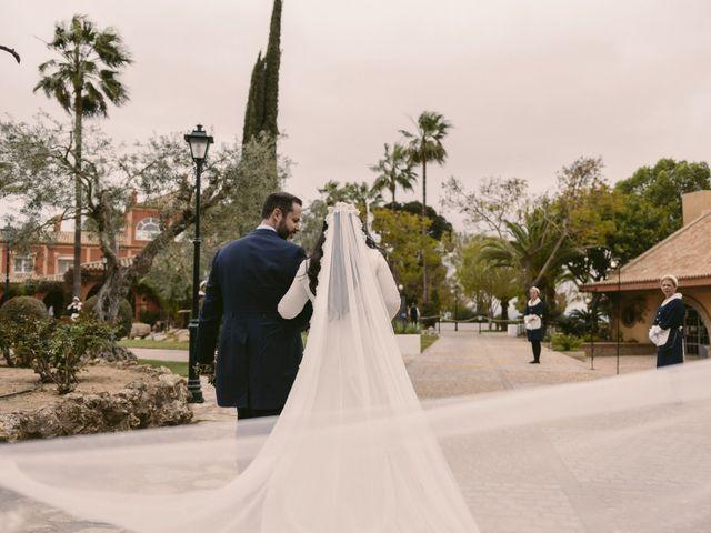 La boda de Evaristo y Lua en Sanlucar La Mayor, Sevilla 40