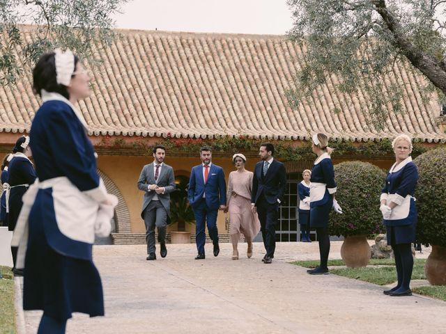 La boda de Evaristo y Lua en Sanlucar La Mayor, Sevilla 42
