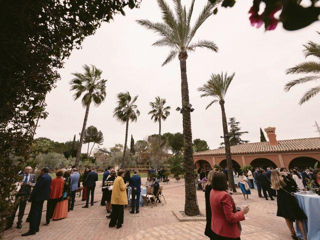 La boda de Evaristo y Lua en Sanlucar La Mayor, Sevilla 43