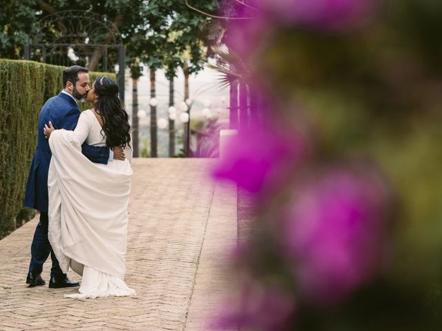 La boda de Evaristo y Lua en Sanlucar La Mayor, Sevilla 49