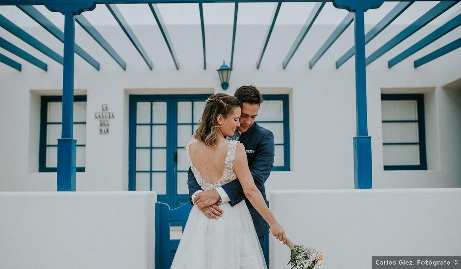 La boda de Octavio y Fayna en Caleta De Sebo (Isla Graciosa), Las Palmas