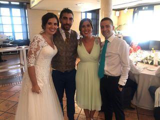 La boda de Vanessa, la novia. y Adrián, el novio.
