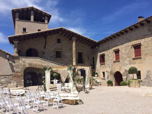 La boda de Jaume y Elia en Els Condals, Lleida 3