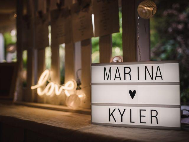 La boda de Kyler y Marina en Sant Fost De Campsentelles, Barcelona 2
