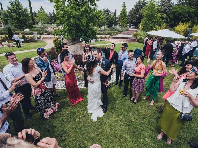 La boda de Manuel y Miriam en Valdemorillo, Madrid 39