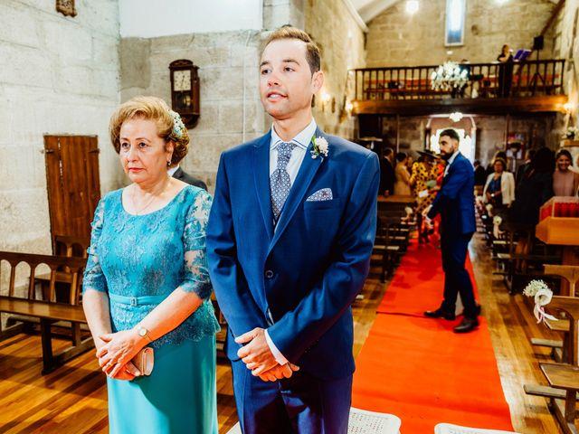 La boda de Jorge y Paula en Boboras, Orense 15