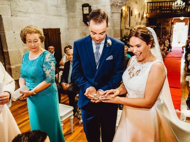 La boda de Jorge y Paula en Boboras, Orense 19