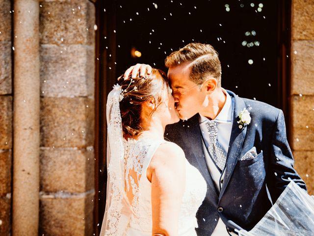 La boda de Jorge y Paula en Boboras, Orense 1