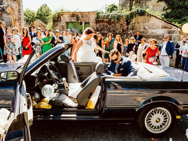 La boda de Jorge y Paula en Boboras, Orense 23