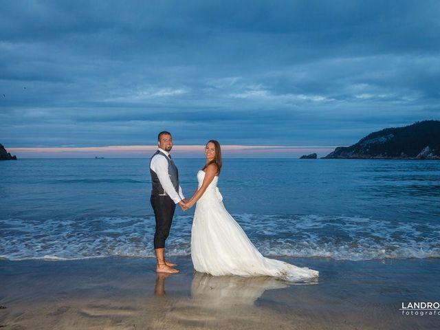 La boda de Eloy y Estibaliz en Capela (Capela, A), A Coruña 2