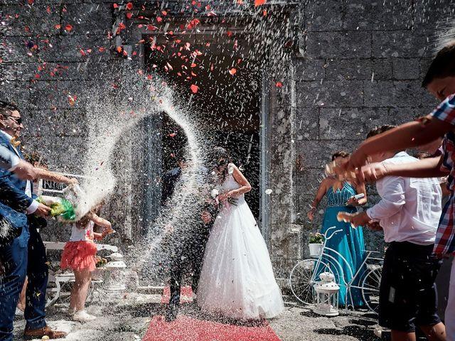 La boda de Alfonso y Sonia en Outes, A Coruña 40