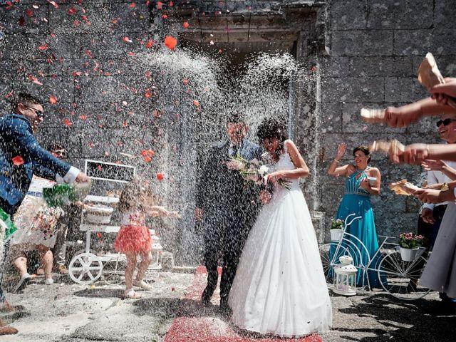 La boda de Alfonso y Sonia en Outes, A Coruña 41