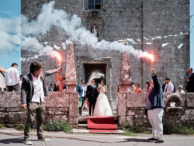 La boda de Alfonso y Sonia en Outes, A Coruña 42