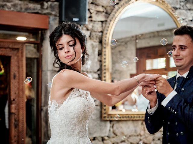 La boda de Alfonso y Sonia en Outes, A Coruña 73