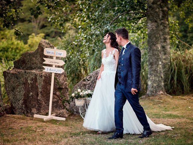 La boda de Alfonso y Sonia en Outes, A Coruña 81