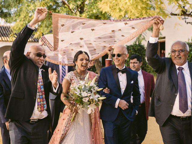 La boda de Curro y Shireen en Alcala De Guadaira, Sevilla 18