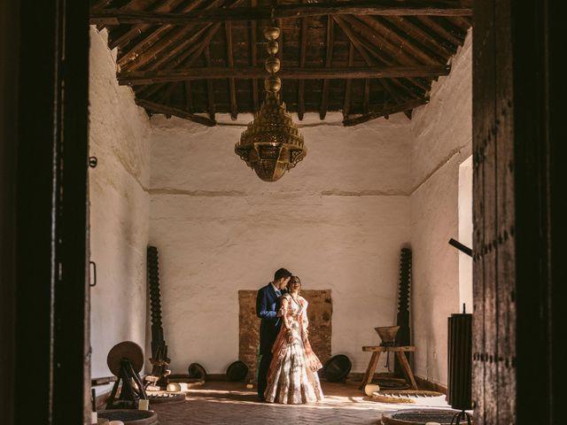 La boda de Shireen y Curro