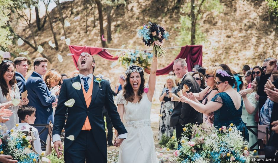 La boda de Manuel y Miriam en Valdemorillo, Madrid