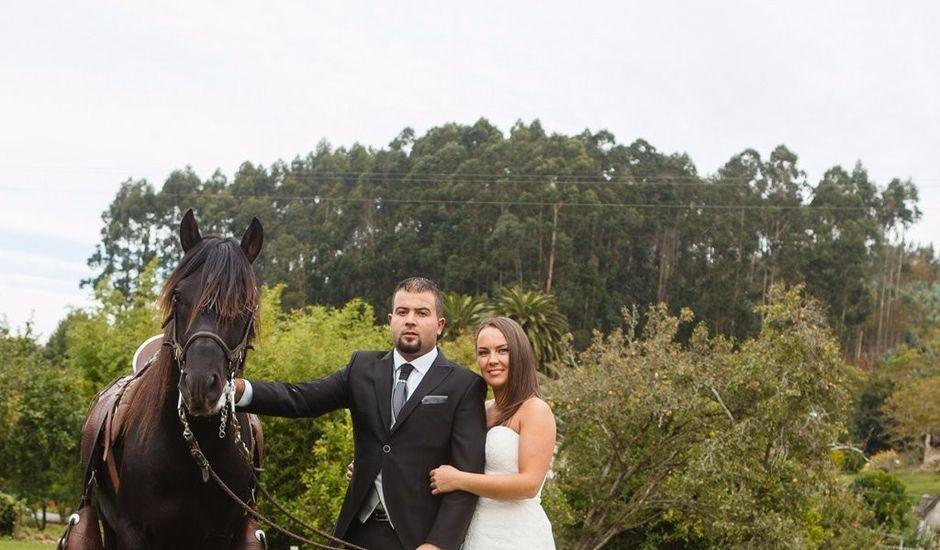 La boda de Eloy y Estibaliz en Capela (Capela, A), A Coruña