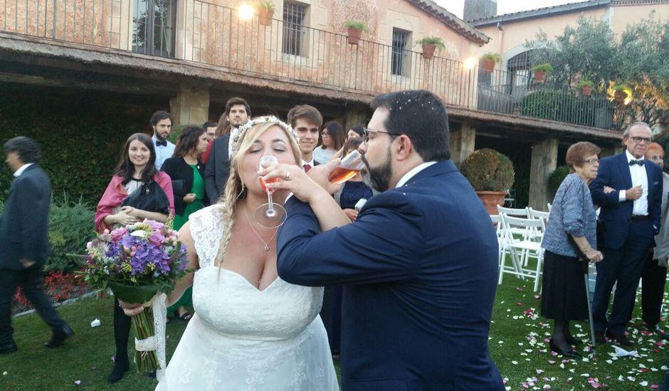 La boda de Cristian y Elisabeth en La Garriga, Barcelona