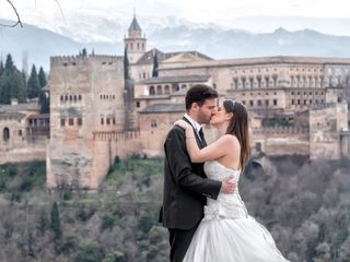 La boda de Rosa María y Dani