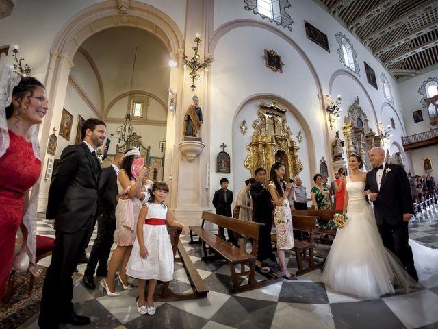La boda de Dani y Rosa María en Granada, Granada 34