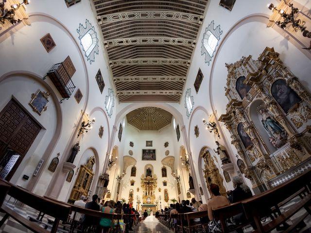 La boda de Dani y Rosa María en Granada, Granada 36