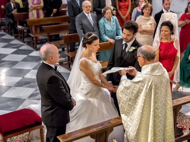 La boda de Dani y Rosa María en Granada, Granada 38