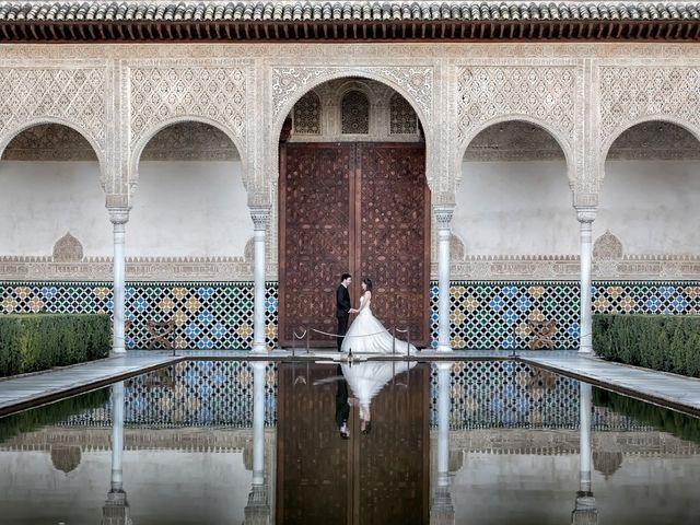 La boda de Dani y Rosa María en Granada, Granada 1