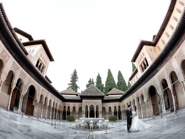 La boda de Dani y Rosa María en Granada, Granada 64