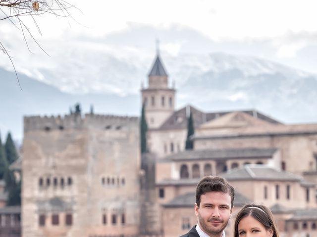 La boda de Dani y Rosa María en Granada, Granada 65