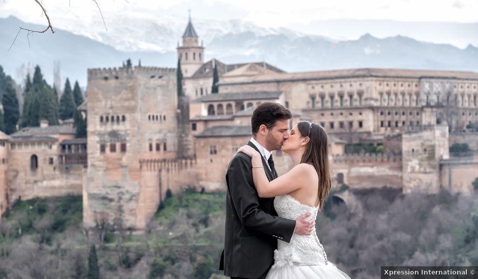 La boda de Dani y Rosa María en Granada, Granada
