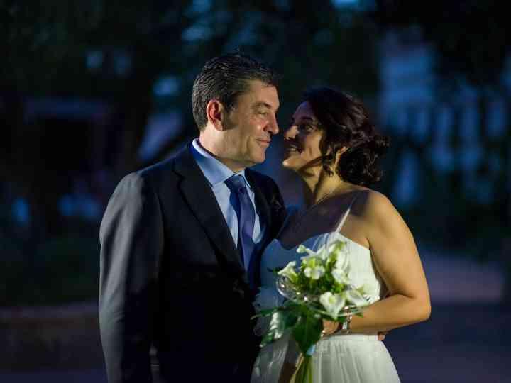 La boda de Ascen y Isidro