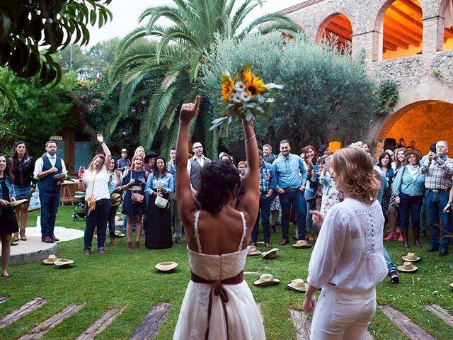 La boda de Aurélie y Lorena en Barcelona, Barcelona 55