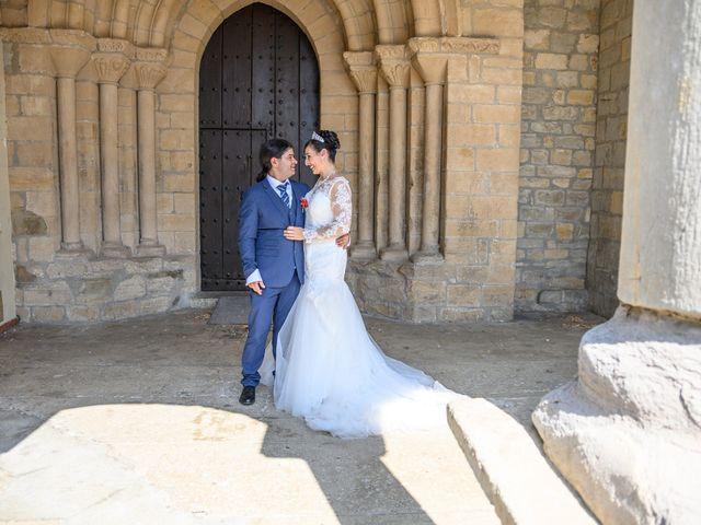 La boda de Alberto y Izaskun en Orkoien, Navarra 10