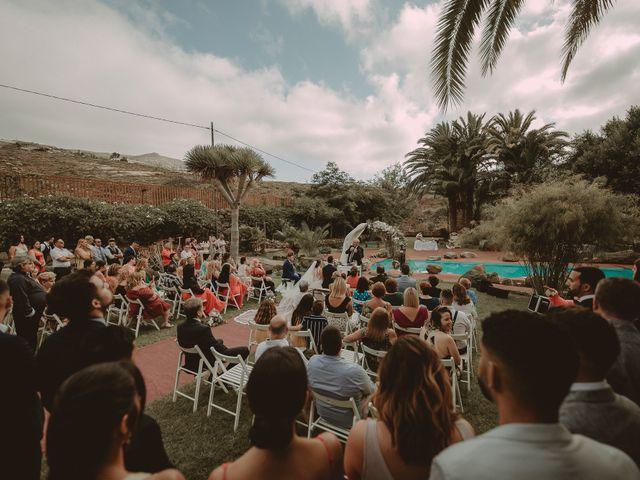 La boda de Fernando y Tamara en Galdar, Las Palmas 66
