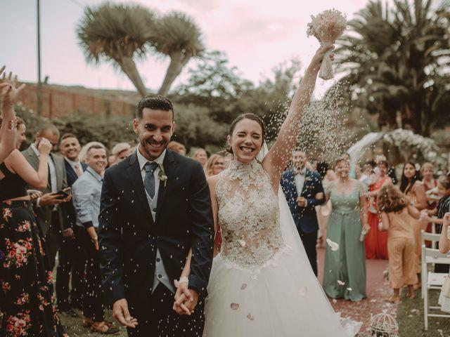 La boda de Fernando y Tamara en Galdar, Las Palmas 80