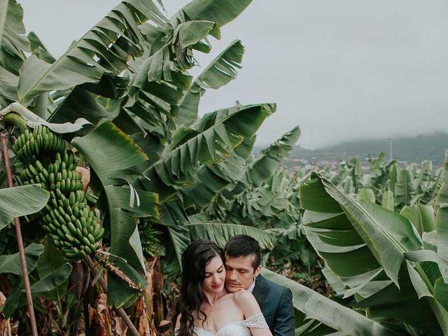 La boda de Ainoha y Julio en Los Realejos, Santa Cruz de Tenerife 60