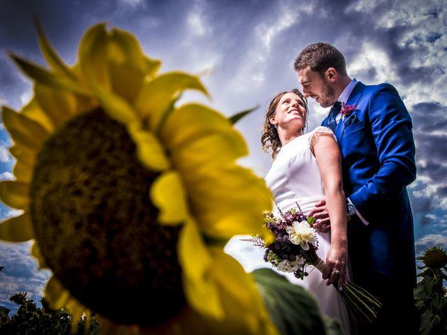 La boda de Joana y Edu en Valoria La Buena, Valladolid 13