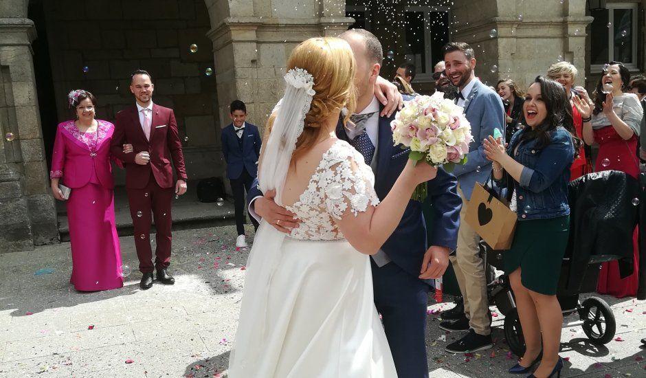 La boda de Oscar  y Maitane  en Lugo, Lugo