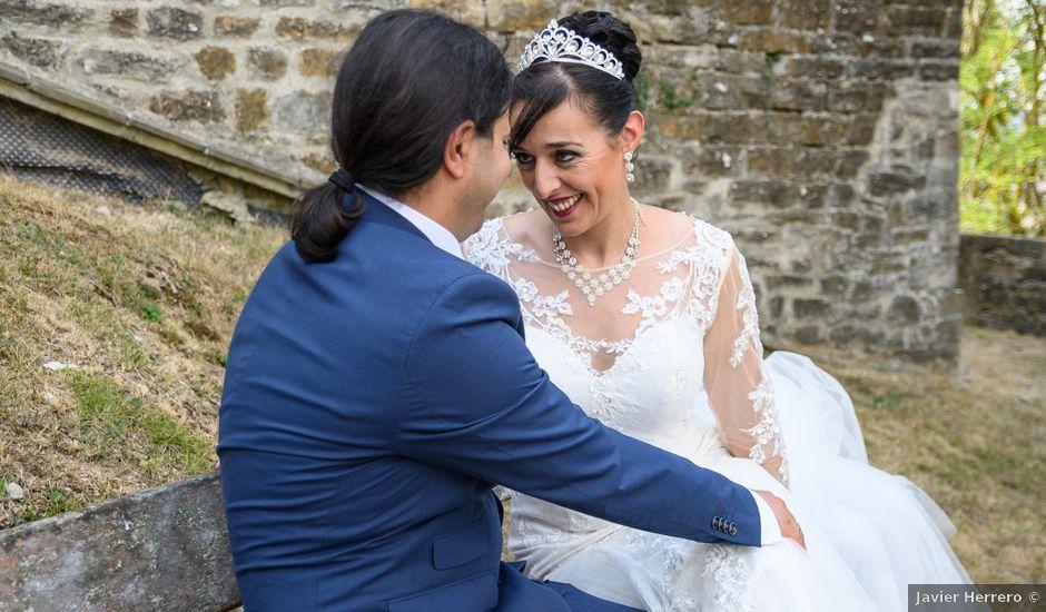 La boda de Alberto y Izaskun en Orkoien, Navarra