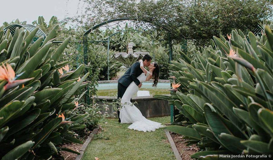 La boda de Ainoha y Julio en Los Realejos, Santa Cruz de Tenerife