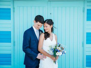 La boda de Irina y Tom