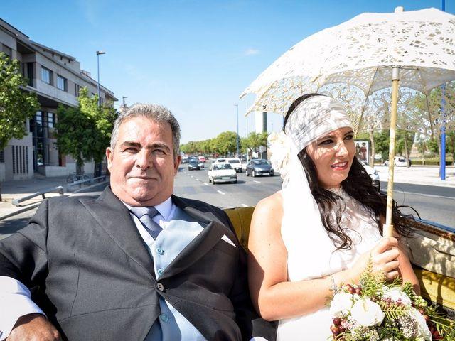 La boda de Alejandro y Mar en Bollullos De La Mitacion, Sevilla 38